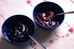 Wild home-made wild berries jam