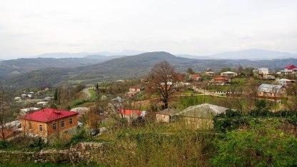 View from Gelati monastery