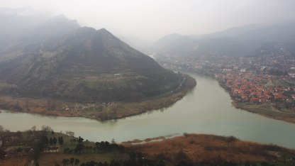 Misty mountains, around Mtskheta