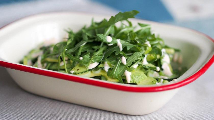 Green Seduction Avocado Cucumber Salad Vanilla Salt